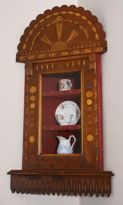 John Van Renz, Corner shelf, Oconto County Historical Society