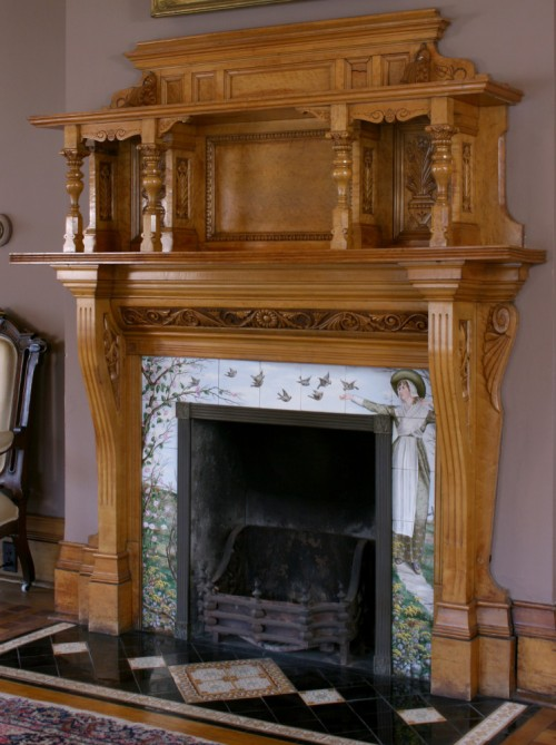 Fireplace at Hearthstone